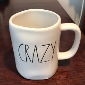 """Rae Dunn """"CRAZY"""" mug"""